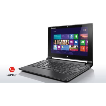 Refurbished Grade A2 Lenovo Flex 10 Celeron N2806 4GB 500GB 10.1 inch Touchscreen Windows 8 Laptop