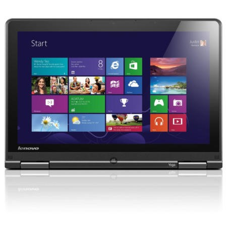 Refurbished Grade A1 Lenovo ThinkPad S1 Yoga Core i3 4GB 500GB Windows 8.1 Pro 12.5 inch Convertible IPS Touchscreen Laptop