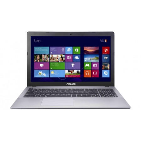 Refurbished Grade A1 Asus F550LAV Core i3-4010U 4GB 500GB DVDSM Windows 8.1 15.6 inch Touchscreen Laptop In Steel Grey