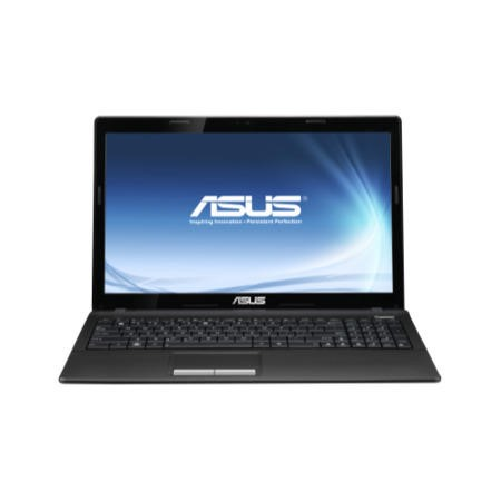 Refurbished Grade A2 Asus A53SK Core i5-2450M 6GB 500GB DVDRW 15.6 inch Windows 7 Laptop in Black