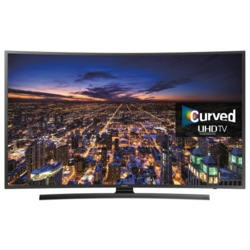 Ex Display - As new but box opened - Samsung UE40JU6500 40 Inch Smart 4K Ultra HD Curved LED TV