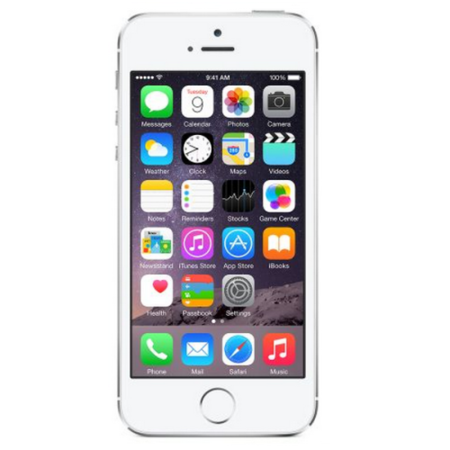 Apple iPhone 5s Silver 32GB Unlocked Refurbished Grade A - Handset Only