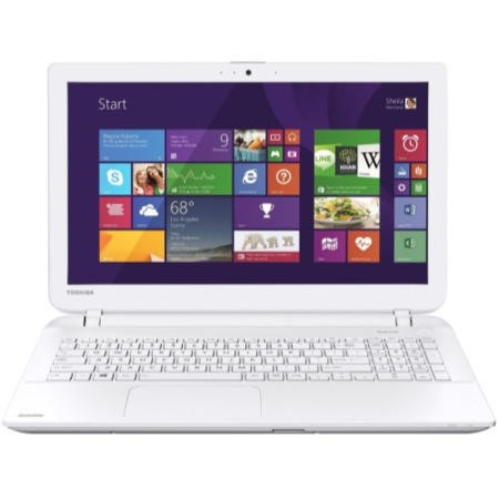 GRADE A1 - As new but box opened - Toshiba Satellite L50D-B-13C AMD A8-6410 8GB 1TB Radeon R5 M230 2GB Graphics 15.6 Inch Windows 8.1 Gaming laptop - White