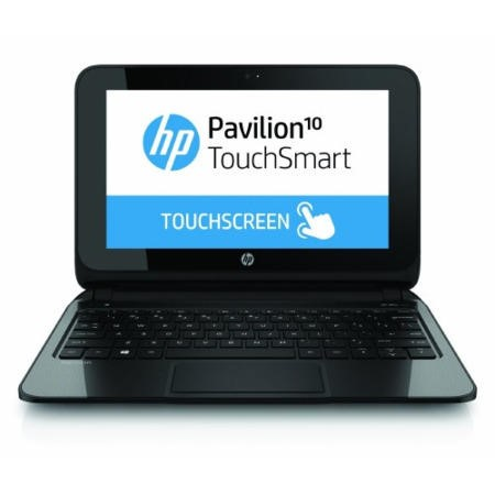 GRADE A1 - As new but box opened - HP Pavilion 10 TouchSmart 10-e010sa AMD A4-1200 2GB 500GB Windows 8.1 10.1 Inch Touchscreen Laptop  - Includes Office Home & Student 2013