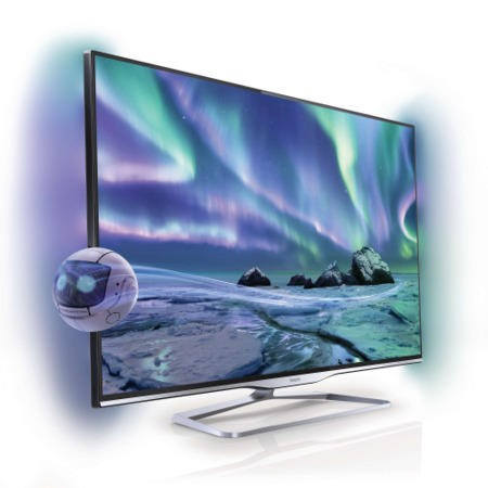 Refurbished - Philips 42PFL5008T 42 Inch Full HD Smart 3D TV