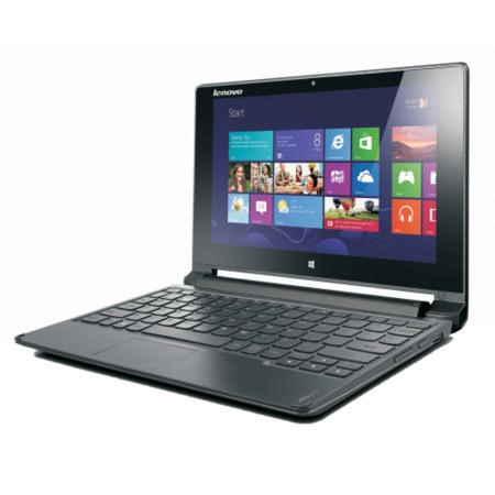 "Lenovo IdeaPad Flex 10  10.1"" Celeron N2807 1.58GHz 4GB DDR3 320GB  HD Touch Windows 8.1 in  Brown Laptop"