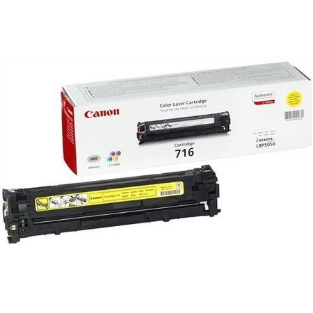 Canon 716 Yellow - Toner cartridge - 1 x yellow - 1500 pages