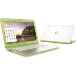 Refurbished Grade A1 HP Chromebook 14-x021na NVIDIA Tegra 2GB 16GB SSD 14 inch Chromebook in Green & White