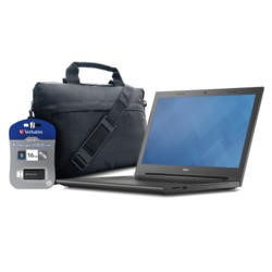 "Dell Vostro Basic Bundle 15.6"" X-Dream Carry Case and 16GB USB Stick"