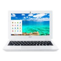 Refurbished Acer Chromebook 11-CB3-111 Intel Celeron N2830 2GB 16GB 11.6 Inch Chrome OS Laptop in White