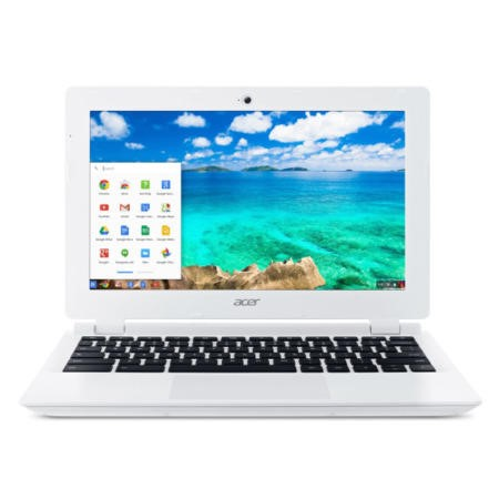 A1/NX.MQNEK.001 Refurbished Acer Chromebook 11-CB3-111 Intel Celeron N2830 2GB 16GB 11.6 Inch Chrome OS Laptop in White