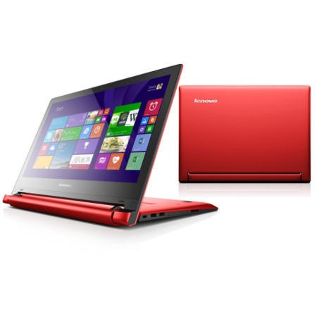 "Refurbished Lenovo Flex 2- 14 Intel Pentium 6GB 1TB 14"" Convertible Touchscreen Laptop in Red"