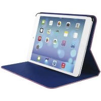 Trust Aeroo Ultrathin Folio Stand For Ipad Mini - Pink/Blue