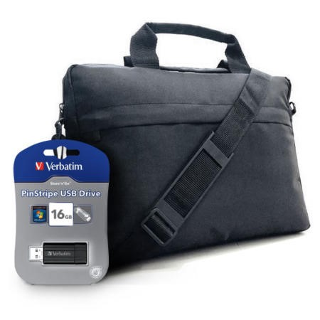 "X Dream 15.6"" Laptop bag and 16GB USB stick"