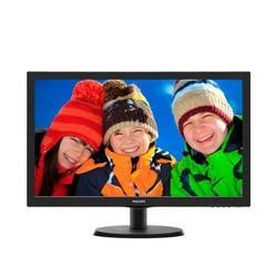 "GRADE A1 - As new but box opened - Philips 223V5LSB2/10 21.5"" LED 1920x1080 VGA Black Monitor"