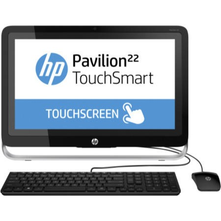 "A1 Refurbished Hewlett Packard 22-H031EA I3-4130T 8GB 1TB Touchscreen 21.5"" Windows 8.1 All In One"