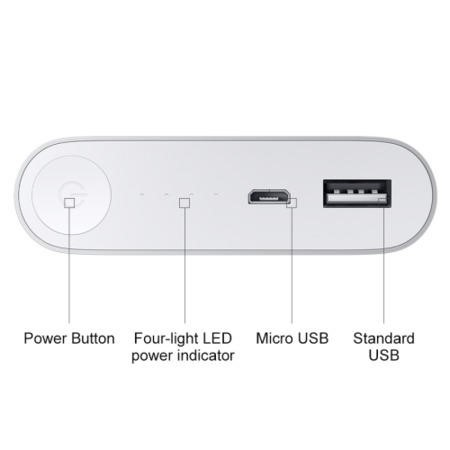 GRADE A1 - As new but box opened - Dual USB Powerful 10400mAh Portable Power Bank For iphone & Android Phones