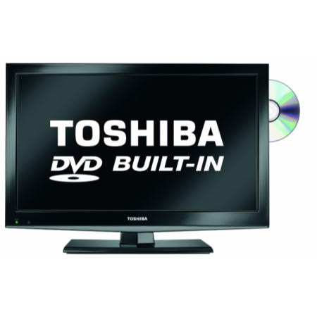 Toshiba 19DL502B2 19 Inch Freeview LED TV with built-in DVD player