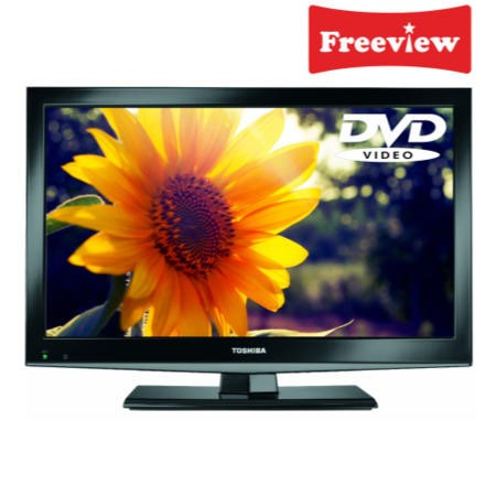 Toshiba 19DL502B 19 Inch Freeview LED TV with built-in DVD player