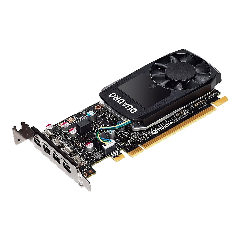 Hewlett Packard NVIDIA Quadro P600 - Graphics card - Quadro P600 - 2 GB  GDDR5 - PCIe 3 0 x16 low profile - 4 x Mini DisplayPort - for Workstation  Z240