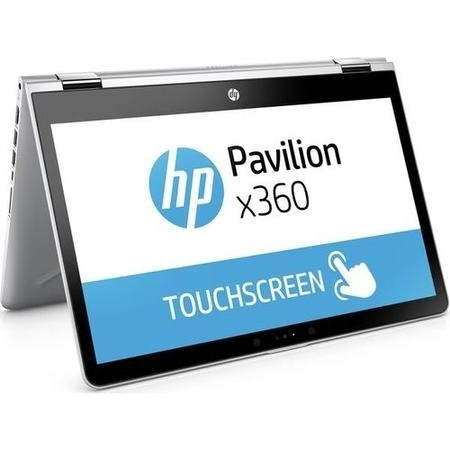 1UJ15EA HP Pavilion x360 Core i3-7100U 8GB 128GB SSD 14 Inch Windows 10 Convertible Laptop