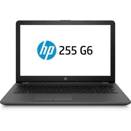 HP 255 G6 AMD A6-9220 4GB 256GB SSD DVD-Writer Radeon R4 15.6 Inch Windows 10 Laptop
