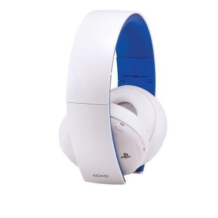 2.0 Wireless Headset for Sony PS4 in White