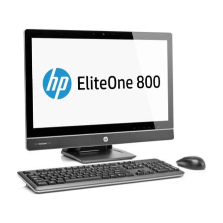 "A1 Refurbished Hewlett Packard EliteOne 800 G1 i3-4130 4GB 500GB 23"" Windows 7/8 Professional All In One"