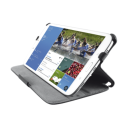 20010 Trust Stile Folio Stand for Galaxy Tab4 8.0 - Black
