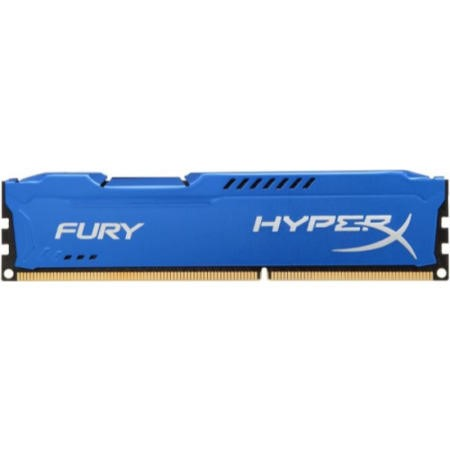 HyperX Fury Blue Series 4GB DDR3 1600MHz 1.5V DIMM Memory