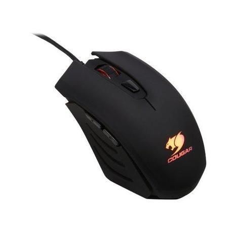 Cougar 200M Gaming Mouse 2000 dpi Omron Gaming Switches LED Black Retail