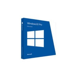 GRADE A1 - As new but box opened - Microsoft Windows Professional 8.1 OEM 32/64-bit Medialess
