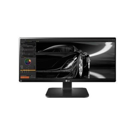 "GRADE A1 - As new but box opened - LG 25UB55-B 25"" 21_9 IPS 2560 x 1080  DVI-D HDMI Display Port Monitor"