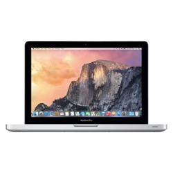 "APPLE A2 Refurbished Macbook Pro Intel Core I5 2.5GHZ 4GB 1TB YOSEMITE OS X 13.3"" Laptop SILVER"