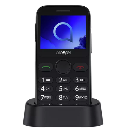 "Alcatel 20.19 Black 2.4"" 2G Easy-to-Use Unlocked & SIM Free"