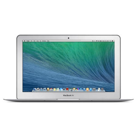 "Refurbished A3 Apple MacBook Air Silver - Core i5 1.4GHz/2.7GHz 4GB 128GB SSD 11.6"" 1440x900 Mac OS X Yosemite NO-OD Intel HD 5000 webcam 2xUSB 3.0 TB 3MT"