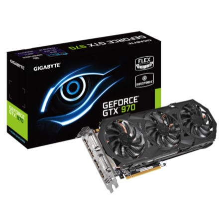 Gigabyte NVidia GeForce GTX 970 4GB G1 Gaming Graphics Card