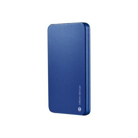 20254 Trust PowerBank 1800T 1800mAh Ultra-Thin Portable Charger - Blue