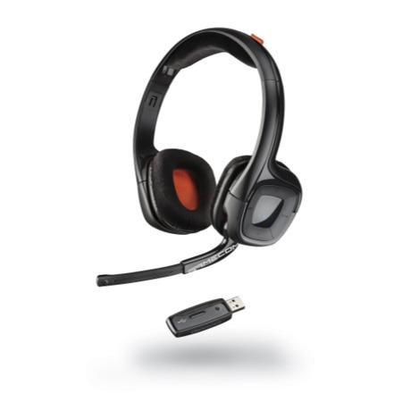 Plantronics Gamecom 818 Wireless Headset for PS4  MAC & PC