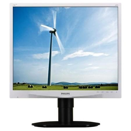 "Philips 19"" LCD Panel 1280x1024 DVI/ VGA Monitor"