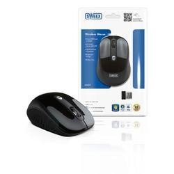 Refurbished GRADE A1 - Sweex Wireless Mouse - Black