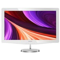 "Philips 248C3 23.5"" LED 1920x1080 VGA HDMI Full HD with SmartImage White Monitor"