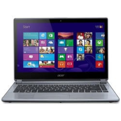 "A1 Refurbished Acer Aspire V5-123 Silver - AMD E1-2100 1GHz 4GB 500GB 11.6"" HD LED Windows 8.1 NO-OD Laptop"