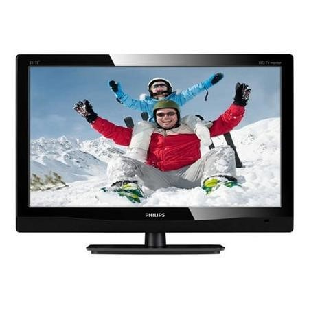 "Philips 231TE4LB 23"" LED MFM 1920x1080 Speakers TV Tuner Black Monitor"