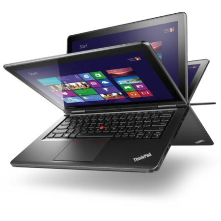 Lenovo ThinkPad S1 Yoga 4th Gen Core i7-4600U 8GB 256GB SSD 12.5 inch Full HD Windows 7 Professional/ Windows 8.1 Professional 2 in 1 Convertible Tablet Laptop