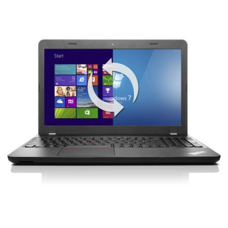 "Lenovo ThinkPad Edge E555 AMD A8-7100 4GB 500GB DVDRW 15.6"" Windows 7/8.1 Professional Laptop"