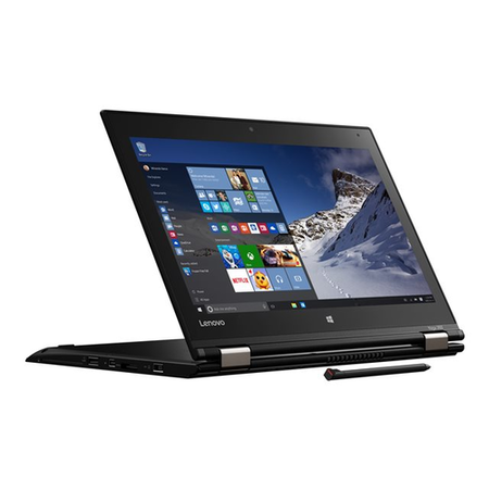 "20FES2HX00 Lenovo ThinkPad Yoga 260 Core I5-6200U 8GB 128GB SSD 12.5"" Convertible Widows 10 Pro Laptop"