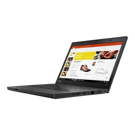 20JU000SUK Lenovo ThinkPad L470 Intel Core i5-6200U 8GB 256GB SSD 14 Inch Windows 7 Professional Laptop