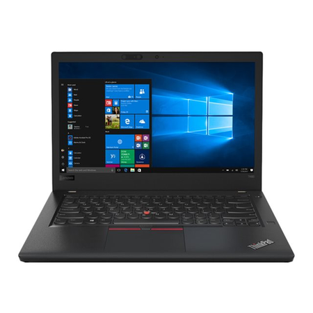 Refurbished Lenovo ThinkPad T480 Core i7-8550U 16GB 512GB SSD 14 Inch Windows 10 Pro Laptop