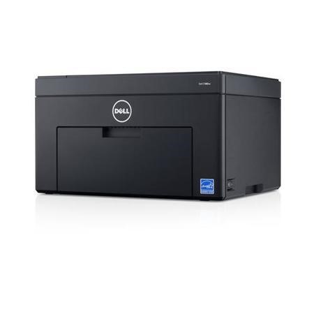 Dell C1660W A4 Colour Printer 1200 x 1200 dpi Resolution 384 MHz Processor 128MB Memory USB 2.0 High Speed & Wireless Interface 10 ppm Printer